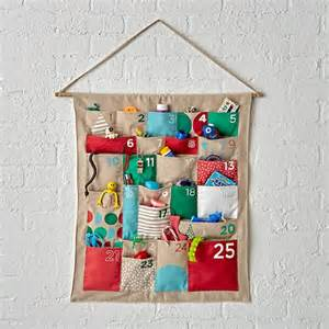 The merry mod advent calendar offers the simplest style with vibrant