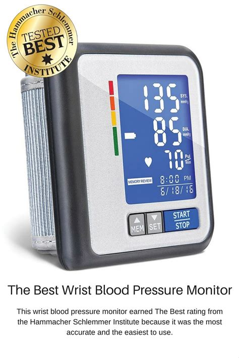 the best wrist blood pressure monitor the best