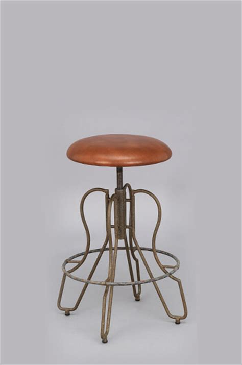 bar stools orlando fl orlando backless modern industrial chic adjustable