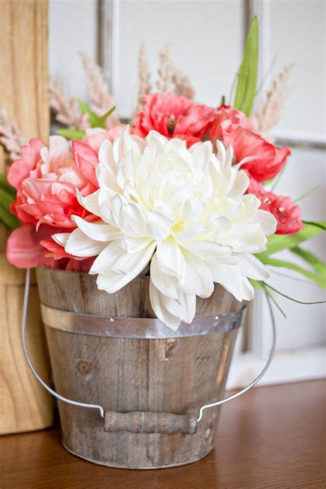 diy floral arrangements diy boho flower arrangement a owl