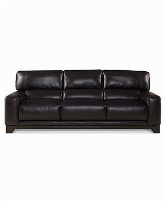 luke leather sofa luke leather sofa 92 quot w x 42 quot d x 36 quot h new house wish