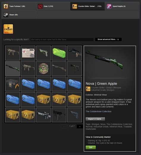 Jual Inventory Steam 7 aadallah original mendapatkan uang steam wallet dari steam community market part1