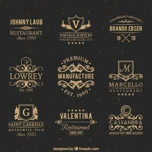 Vintage Badge Template by Vintage Logo Vectors Photos And Psd Files Free