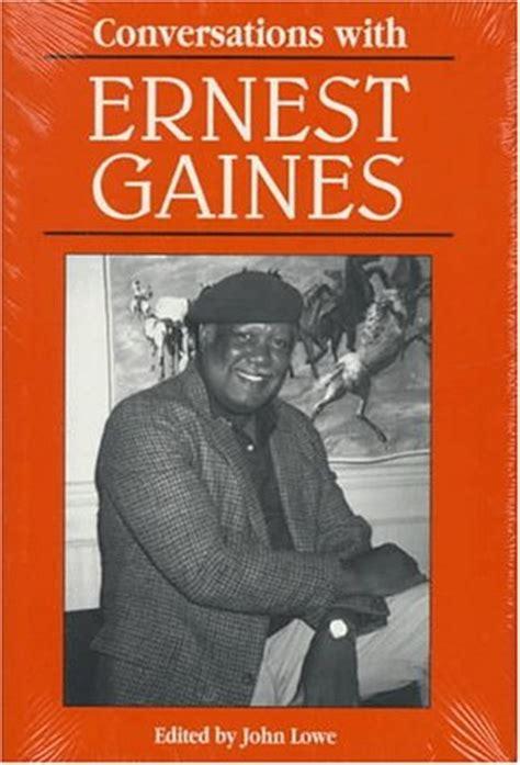 ernest gaines author info published books bio photo