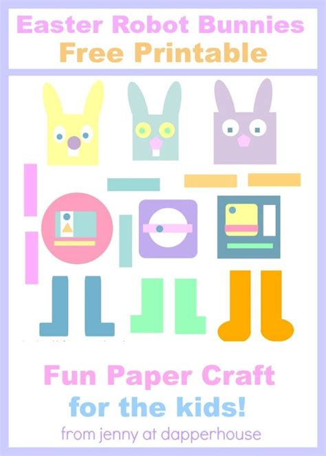 easter paper crafts free get this and free printable for the easter