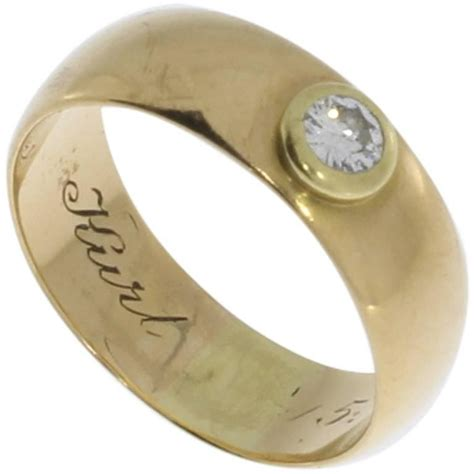 Berlian Eropa 0 59 Carat 0 25 carat gold ring for sale at 1stdibs
