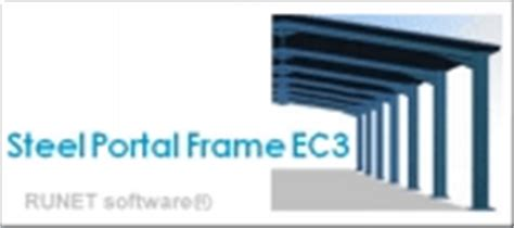 portal frame design to eurocode 3 runet structural engineering software with eurocodes