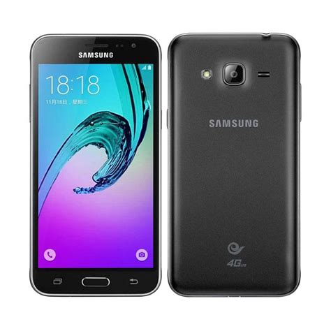 Samsung J 1 2016 1 8gb 4g Lte jual samsung galaxy j3 2016 smartphone hitam 8gb ram 1