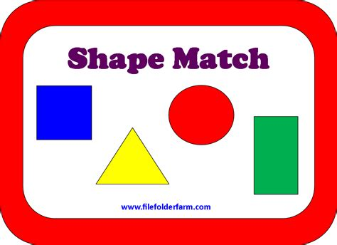 printable shapes matching game 6 best images of shapes matching game printable shape