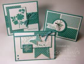 Stampin up birthday card ideas for men bermuda bay trio of cards
