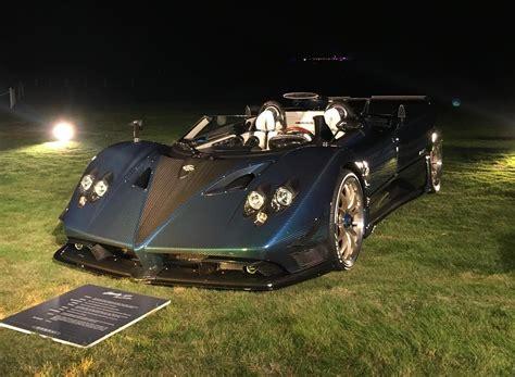 pagani zonda 2017 1 of 3 pagani zonda hp barchetta revealed at pebble beach