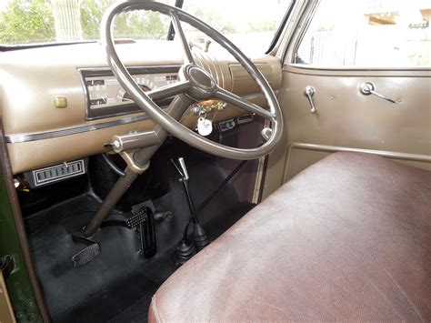 Chevy Cer Interior by 1946 Chevrolet 3100 151686