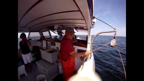 lobster boat tour ogunquit trap haul underwater view finestkind lobster boat tours