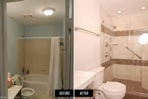 ideas before and after pictures bathroom remodels budget hgtv