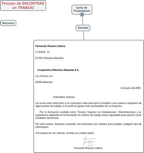 carta de presentacion ejemplo trabajo social proceso encontrar trabajo recursos carta presentacion ejemplo
