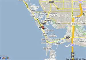 map of travelodge st pete petersburg