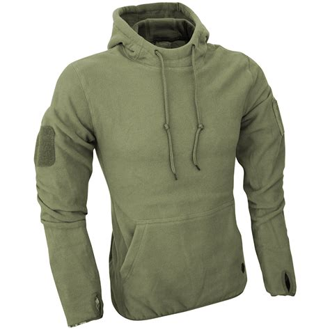 Hoodie Jaket Sweater Greenlight viper tactical mens hoodie warm travel fleece hiking jumper polar green ebay