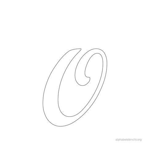 cursive alphabet template pics for gt cursive lowercase o