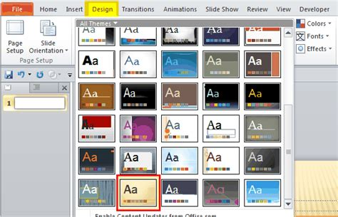 how to download themes for microsoft powerpoint 2010 powerpoint e learning center moyea software part 39