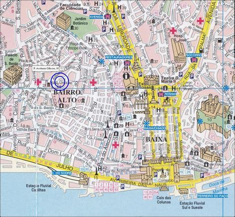 printable map lisbon link clickable lisbon map kattinthat 243