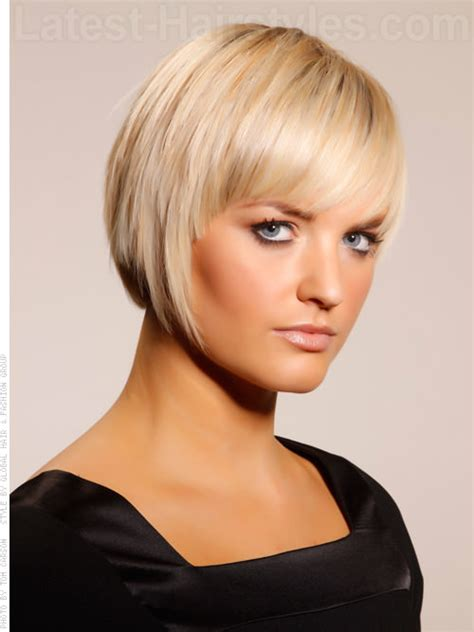 hair styles for and cheekbone short hairstyles pictures of short hairstyles for fine