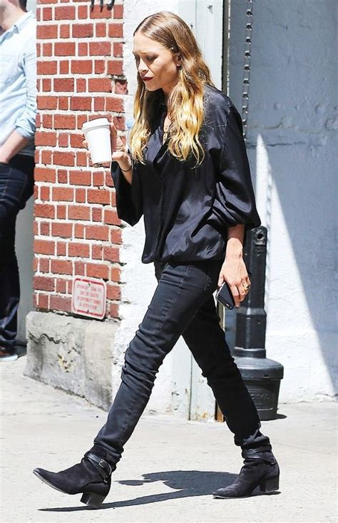 Kate Olsens The Runway Boots by The 5 Most Recent Sightings In New York City