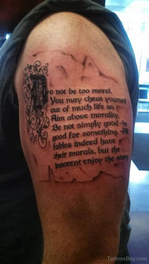 quarter sleeve tattoo with words word tattoos tattoo designs tattoo pictures page 12