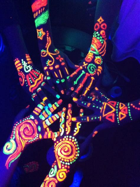 glow in the dark tattoos party city fest life