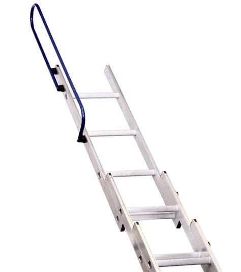 three section ladders deluxe three section aluminium loft ladder to bsen14975
