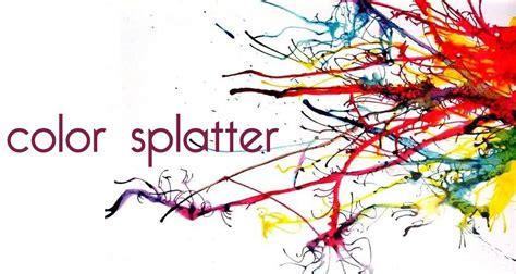 color splatter the gallery for gt color ink splatter png