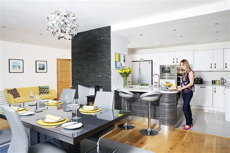 open plan family kitchen diner family kitchen design new family kitchen extension in a 1960s house real homes