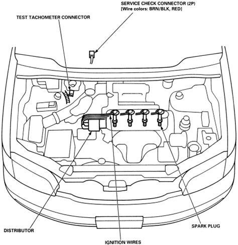 small engine repair training 1995 honda odyssey engine control repair guides distributor ignition system general information autozone com