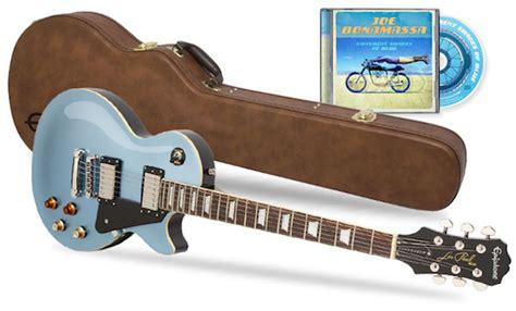 Joe Bonamassa Guitar Giveaway - win a joe bonamassa les paul custom