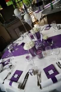 17 best ideas about purple table settings on