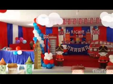 themes in london london birthday theme by a cn party organizer youtube