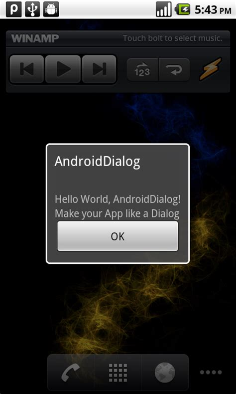 android dialog exle android coding make you app looked like a dialog