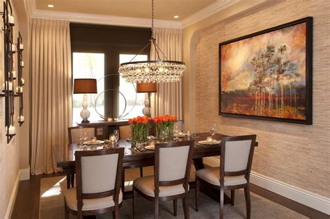 Transitional Dining Rooms vibrant transitional family home dining room robeson