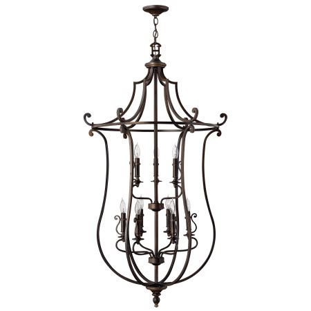 hinkley lighting plymouth collection hinkley lighting 4259ob olde bronze 9 light 2 tier candle
