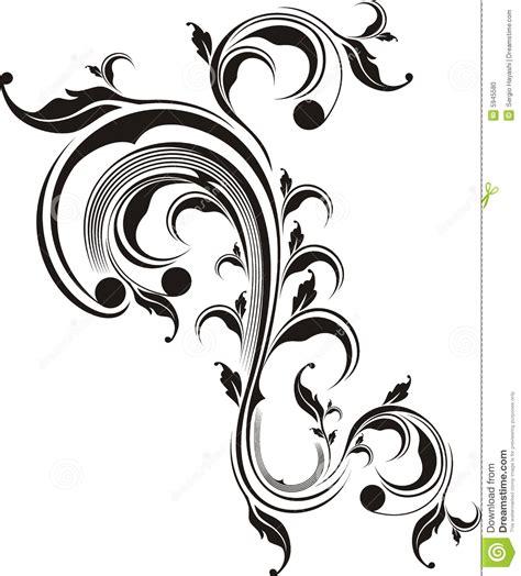 imagenes de adornos otoñales florales de adornos ilustraci 243 n del vector imagen de