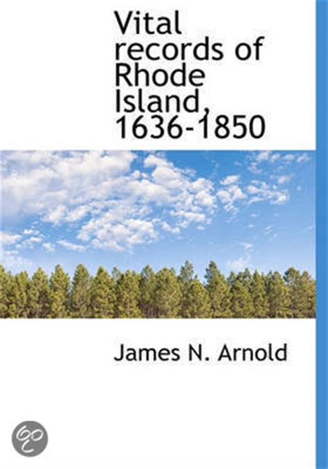 Records Rhode Island Bol Vital Records Of Rhode Island 1636 1850 Newell Arnold N