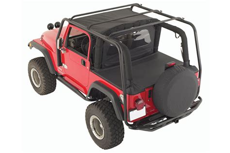 Jeep Top Roof Rack Smittybilt Src Roof Rack Free Shipping From Autoanything