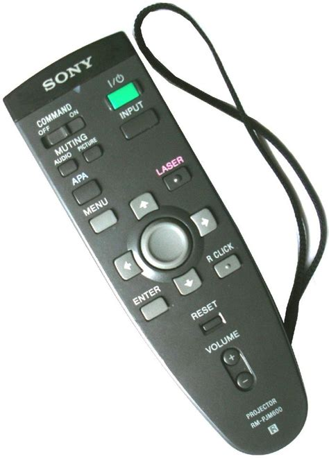 Remote Sony Projector sony rm pjm600 projector remote with laser