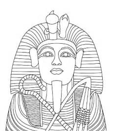 King Tut Coloring Pages free coloring pages of pharaoh mask