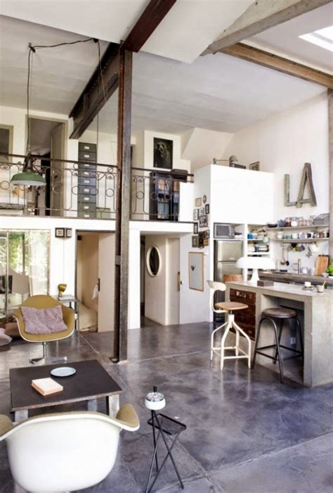 paris loft chic industrial paris loft from an old factory digsdigs