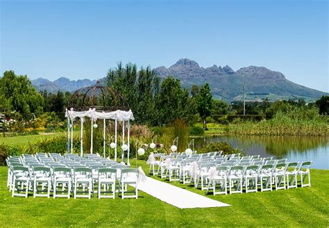 wedding venues in cape town area cape winelands wedding venues