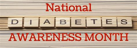 Get Decked Out For National Month by National Diabetes Awareness Month Don T Let It Get Out Of