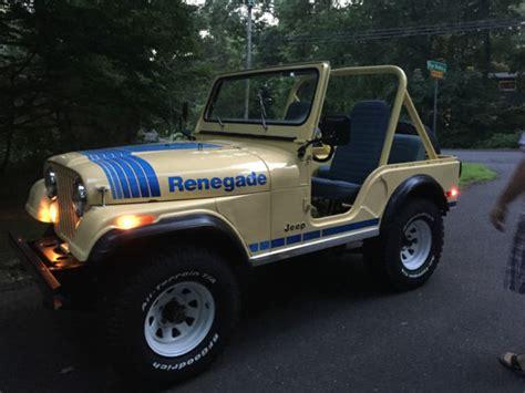classic jeep renegade 1979 jeep cj5 renegade classic jeep cj 1979 for sale