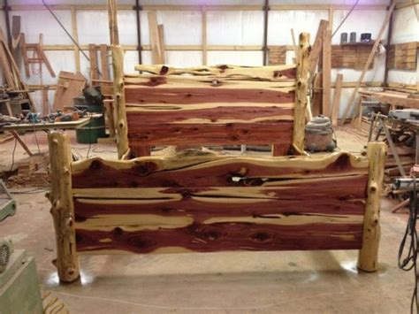 Rustic Log Bed Frames Rustic Bed King Size Rustic Bed Frame Plans In More Attractive Design Laluz Nyc Home Design