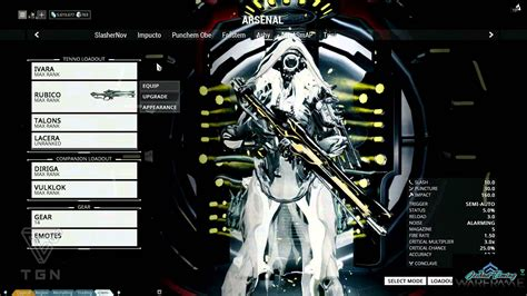 best warframe warframe best tactical frame ivara rubico sniper rifle