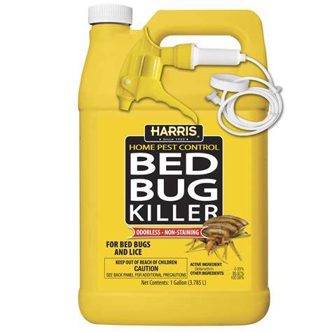 harris bed bug spray harris bed bug killer gallon spray 1 ebay